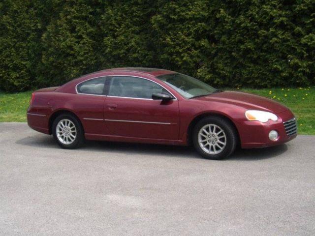 2003 chrysler sebring coupe lx 4 cyl eng indy red manual trans rh brookfield oh americanlisted com 2008 Sebring 2008 Sebring