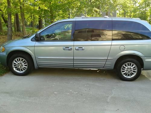 2003 Chrysler Town Amp Country Minivan Low Price For Sale