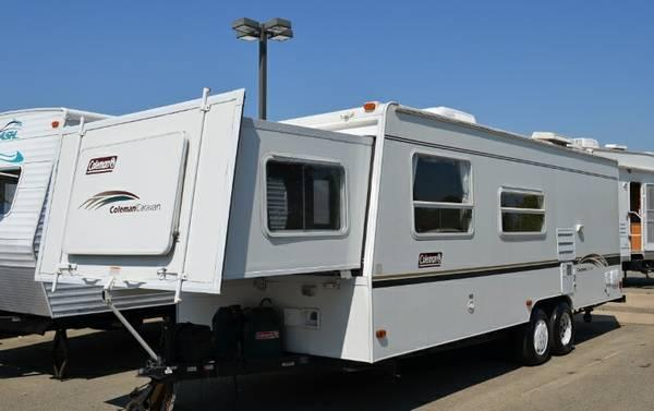 south carolina mobile homes for sale with 2003 Coleman Caravan 25 Travel Trailer W Slide Out Only 4590 Lbs 9995 26635185 on pare Homes In Corrales New Mexico Covington Louisiana Bluffton South Carolina as well 2003 Coleman Caravan 25 Travel Trailer W Slide Out Only 4590 Lbs 9995 26635185 further Small Modular Cabin Sale Ohio besides 7 Magical Vintage Mansions in addition Lake Keowee Land.