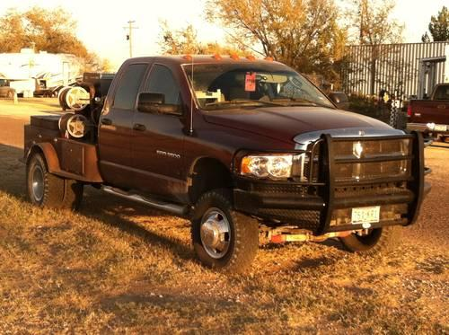 All American Dodge Odessa >> 2003 DODGE 3500 4x4 RIG WELDING TRUCK 6 Speed Manual for ...