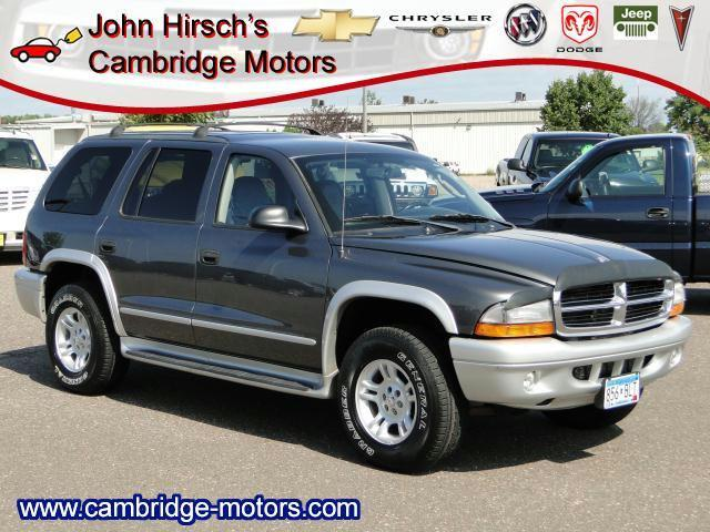 2003 Dodge Durango Slt Plus For Sale In Cambridge