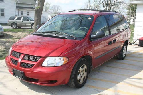 2003 Dodge Grand Caravan Se Van Red 149k Miles For Sale In