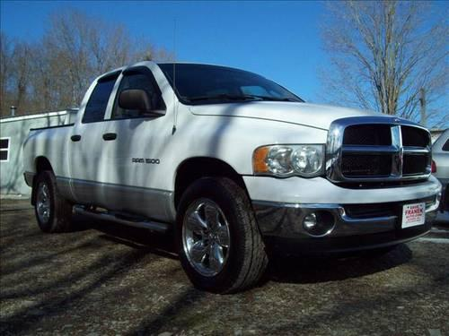 2003 dodge ram 1500 pickup truck slt quad cab w tonneau cvr 4wd for sale in beemerville new. Black Bedroom Furniture Sets. Home Design Ideas