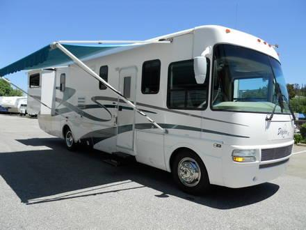 2003 dolphin lx 36 class a by national rv wtih 2 slides one owner for sale in auburn. Black Bedroom Furniture Sets. Home Design Ideas