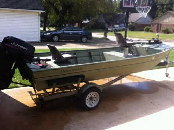 2003 duracraft 1548 fls for sale in west memphis for Metal craft trailers parts