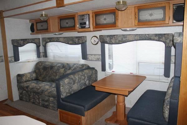 2003 dutchmen fifthwheel toy hauler 35 ft w generator for sale in concord north carolina. Black Bedroom Furniture Sets. Home Design Ideas