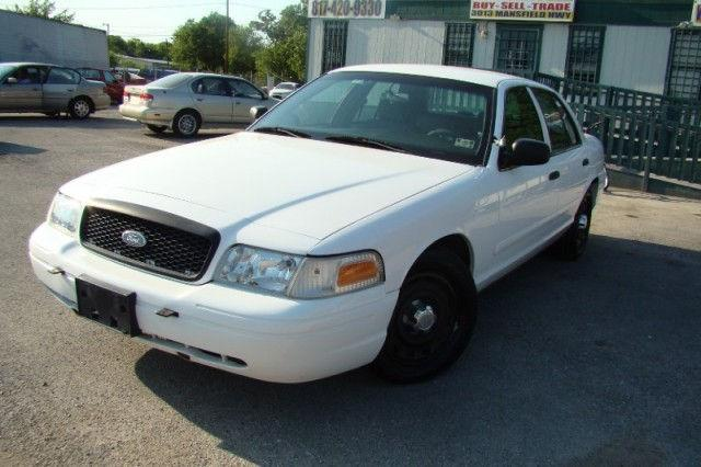 2003 ford crown victoria police interceptor for sale in fort worth texas classified. Black Bedroom Furniture Sets. Home Design Ideas