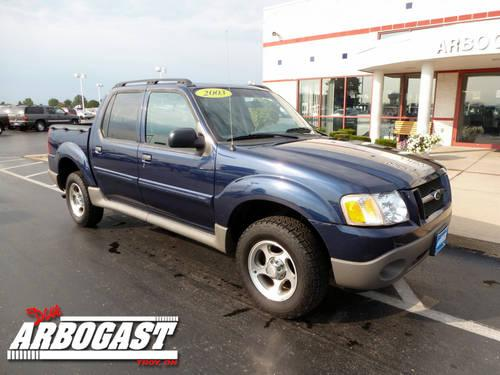 2003 ford explorer sport trac suv xls for sale in troy. Black Bedroom Furniture Sets. Home Design Ideas