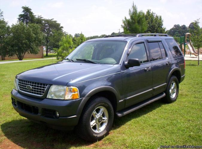 2003 ford explorer xlt 4x4 w low miles for sale in burlington north carolina classified. Black Bedroom Furniture Sets. Home Design Ideas