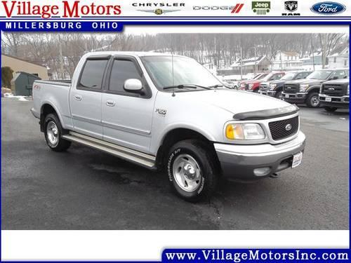2003 ford f 150 4d crew cab xlt for sale in becks mills ohio classified. Black Bedroom Furniture Sets. Home Design Ideas