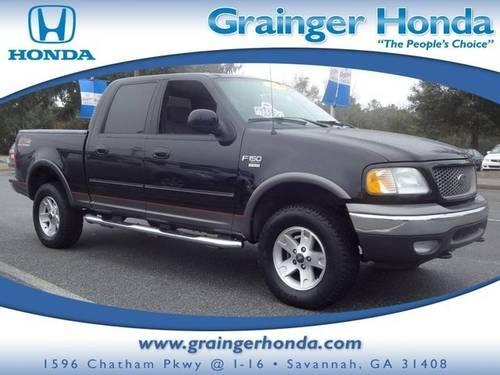 2003 ford f 150 crew cab pickup supercrew 139 xlt 4wd for sale in savannah georgia classified. Black Bedroom Furniture Sets. Home Design Ideas