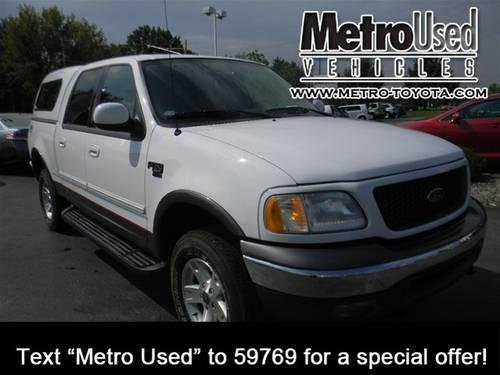2003 Ford F-150 SuperCrew Cab XLT