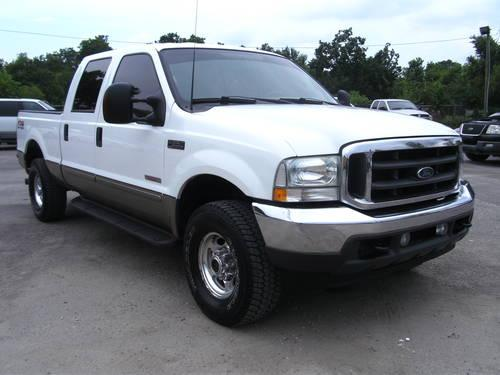 2003 ford f 250 lariat diesel 4x4 crew cab loaded for sale in pasadena texas classified. Black Bedroom Furniture Sets. Home Design Ideas