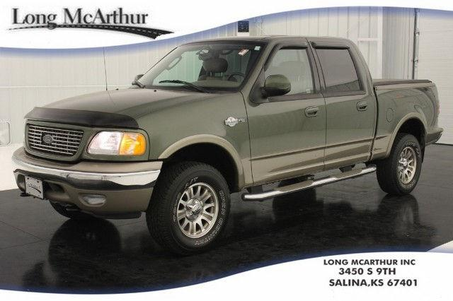 Groovy 2003 Ford F150 King Ranch For Sale In Salina Kansas Machost Co Dining Chair Design Ideas Machostcouk