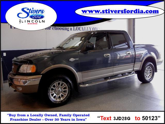 2003 ford f150 king ranch for sale in waukee iowa classified. Cars Review. Best American Auto & Cars Review