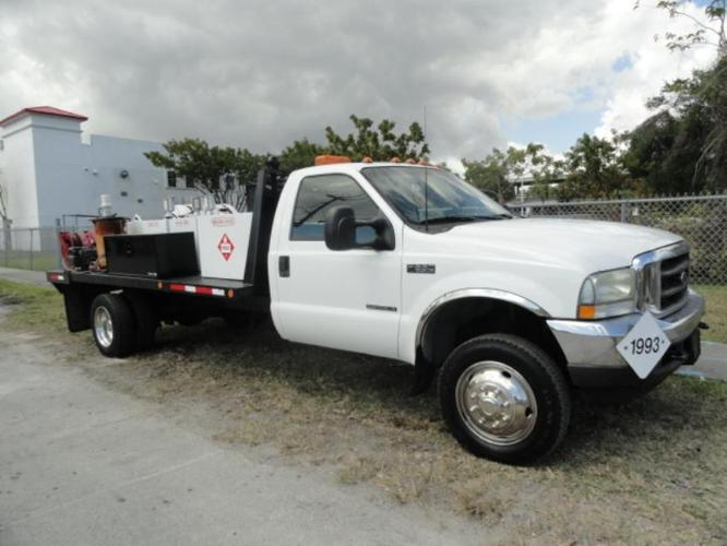 2003 ford f550 xl 4x4 fuel lube truck for sale in miami florida classified. Black Bedroom Furniture Sets. Home Design Ideas
