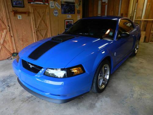 2003 Ford Mach 1 Mustang 18 000 Miles Ab 5 Speed Iup 1 Owner Car For Sale In Cornishville Kentucky Classified Americanlisted Com