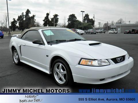 2003 ford mustang 2 door convertible for sale in aurora for Jimmy michel motors inc