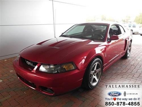 2003 ford mustang 2dr car svt cobra for sale in tallahassee florida classified. Black Bedroom Furniture Sets. Home Design Ideas