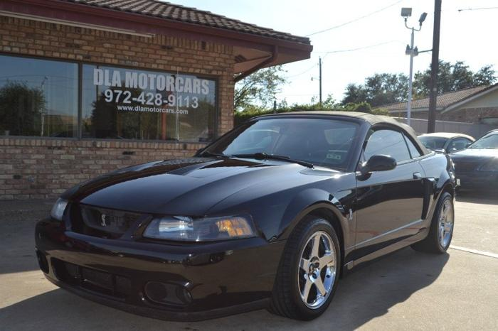 2003 ford mustang 2dr conv svt cobra for sale in garland texas classified. Black Bedroom Furniture Sets. Home Design Ideas