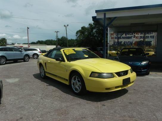 2003 ford mustang convertible yellow for sale in cocoa. Black Bedroom Furniture Sets. Home Design Ideas