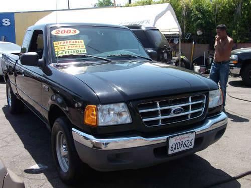 2003 ford ranger xlt black perfect work truck sale for sale in north hollywood. Black Bedroom Furniture Sets. Home Design Ideas
