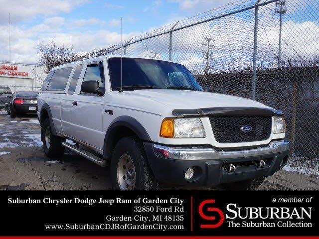 2003 Ford Ranger XLT FX4 Level II 4dr SuperCab XLT FX4 Level II 4WD SB For  Sale In Garden City, Michigan