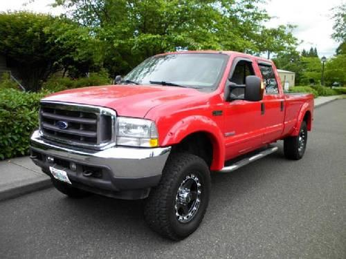 2003 ford super duty f350 crew cab xlt for sale in. Black Bedroom Furniture Sets. Home Design Ideas