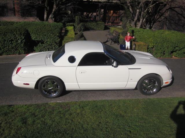 2003 ford thunderbird low miles 31 000 for sale in santa rosa california classified. Black Bedroom Furniture Sets. Home Design Ideas