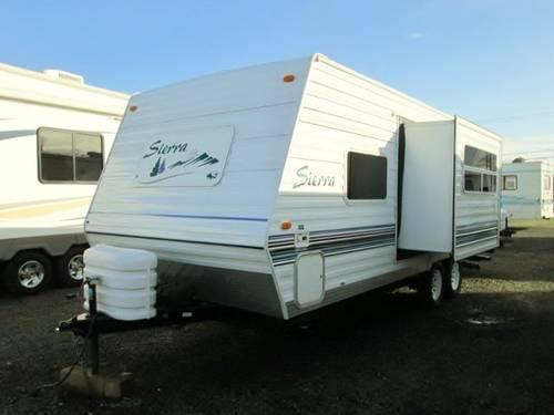 2003 Forest River Sierra Lite Travel Trailer 23ft And