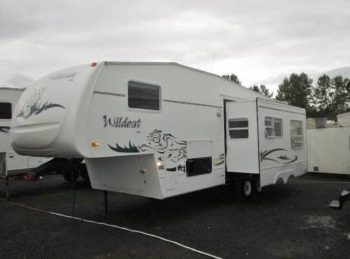 2003 Forest River Wildcat 5th Wheel With Slideout And Bunk