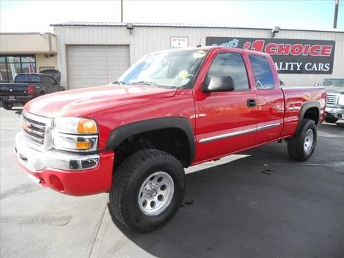 2003 gmc sierra 1500 extended cab pickup 4x4 slt z71 for sale in reno nevada classified. Black Bedroom Furniture Sets. Home Design Ideas