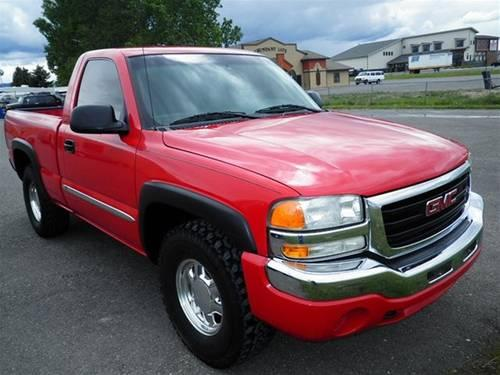 2003 gmc sierra 1500 truck sle for sale in bozeman montana classified. Black Bedroom Furniture Sets. Home Design Ideas