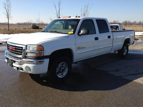 2003 gmc sierra 2500hd crew 4wd diesel pickup truck for sale in cartersburg indiana classified. Black Bedroom Furniture Sets. Home Design Ideas