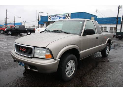 2003 gmc sonoma extended cab pickup 4x4 sls zr2 for sale in longview washington classified. Black Bedroom Furniture Sets. Home Design Ideas