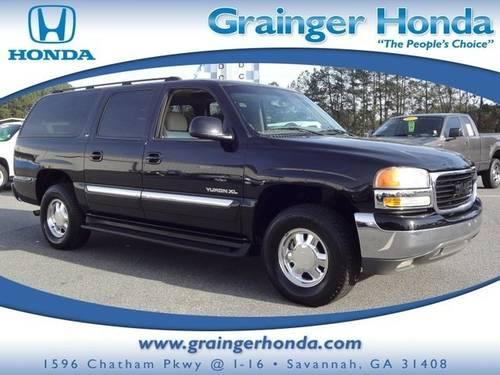 2003 gmc yukon xl sport utility 4dr 1500 slt for sale in savannah georgia classified. Black Bedroom Furniture Sets. Home Design Ideas