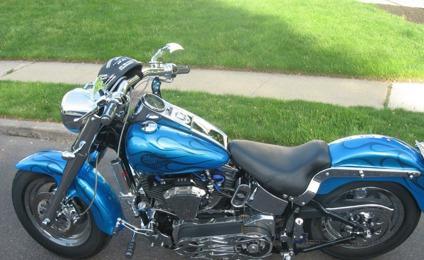 2003 Harley Davidson, 100th Anniv. Fatboy