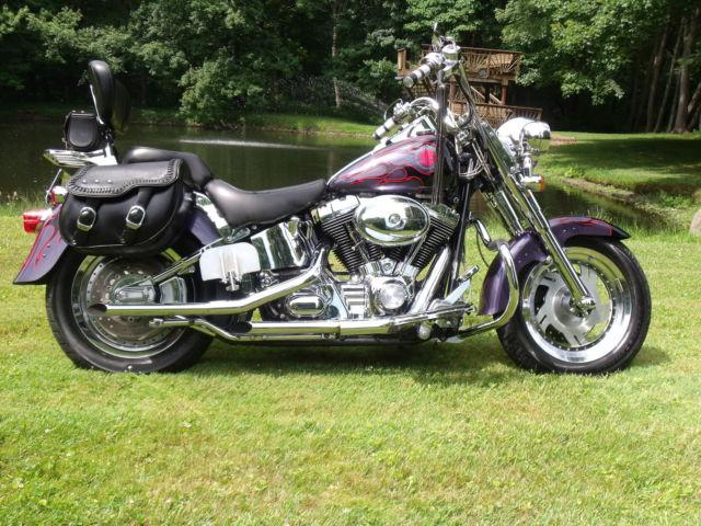 2003 Harley Davidson Fatboy 100TH Anniversary Special Edition