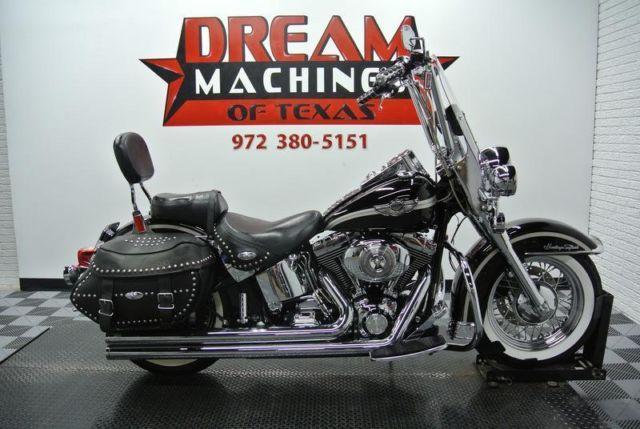 2003 Harley Davidson Flstci Heritage Softail Classic 100th