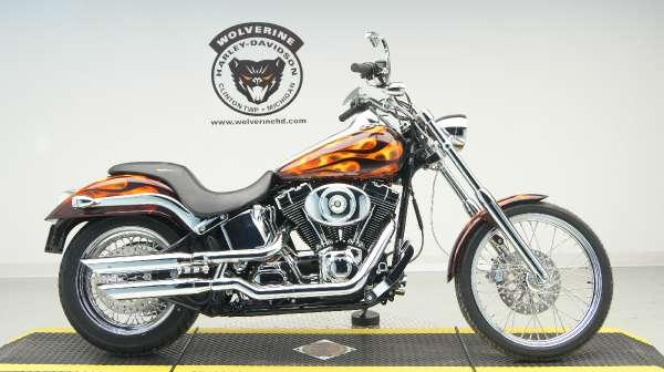 2003 Harley Fxstdi Softail Deuce For Sale