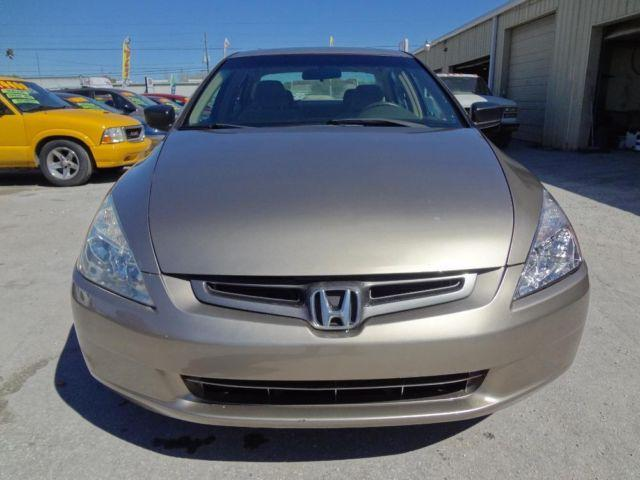 2003 Honda Accord 4 Cylinder One Owner
