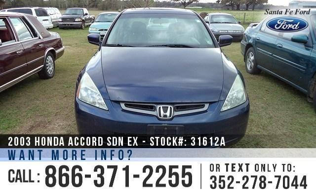2003 Honda Accord EX - Alloy Wheels - Leather Seats