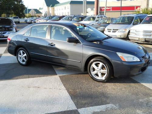 Virginia Auto Sales Tax >> 2003 Honda Accord EX - Grey for Sale in Chester, Virginia ...
