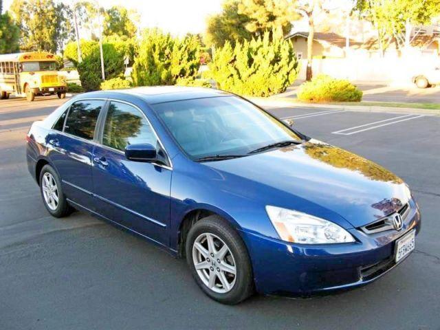2003 Honda Accord EX L V6   Dark Blue   Auto  75k Mi For Sale In Santa Ana,  California