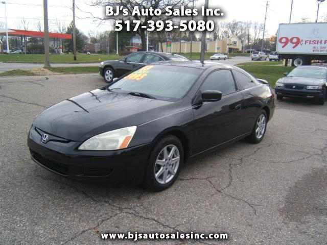 2003 honda accord ex v 6 ex v 6 2dr coupe for sale in lansing michigan classified. Black Bedroom Furniture Sets. Home Design Ideas