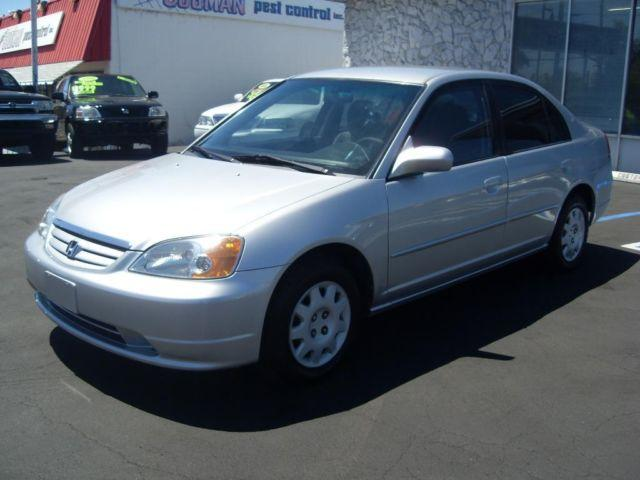 2003 HONDA CIVIC 4dr Silver! All Pwr! Great MPG!