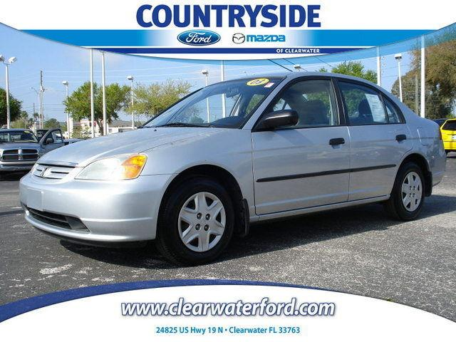 2003 honda civic dx for sale in clearwater florida. Black Bedroom Furniture Sets. Home Design Ideas