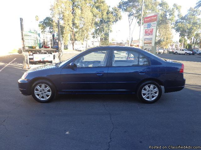 2003 honda civic ex for sale in lynwood california classified. Black Bedroom Furniture Sets. Home Design Ideas