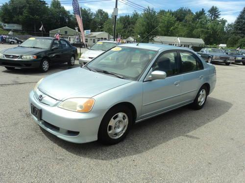 2003 honda civic hybrid for sale in manchester new. Black Bedroom Furniture Sets. Home Design Ideas