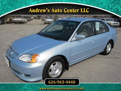 2003 Honda Civic Hybrid (Electric And Gas) (48 MPG For Sale In Glendora,  California